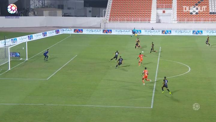 Highlights: Ajman 0-1 Ittihad Kalba