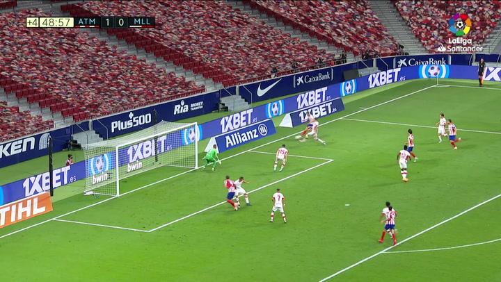 Gol de Morata (2-0) en el Atlético de Madrid 3-0 Mallorca