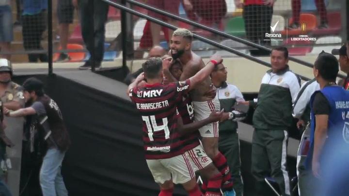 El gol de Gabriel Barbosa 'Gabigol' que quedará en los anales de la historia del Flamengo