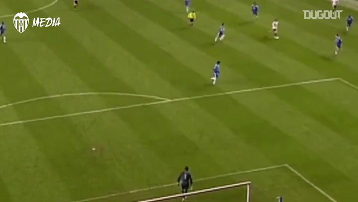 David Silva's superb strike vs Chelsea