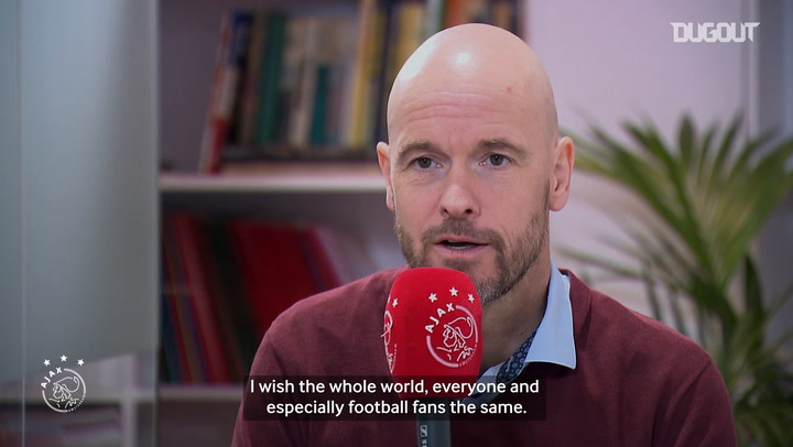Erik ten Hag provides an update on Ajax's COVID-19 situation