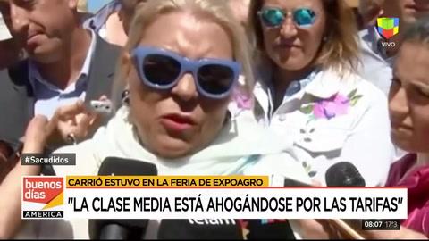 Lilita Carrió habló sobre la inflación