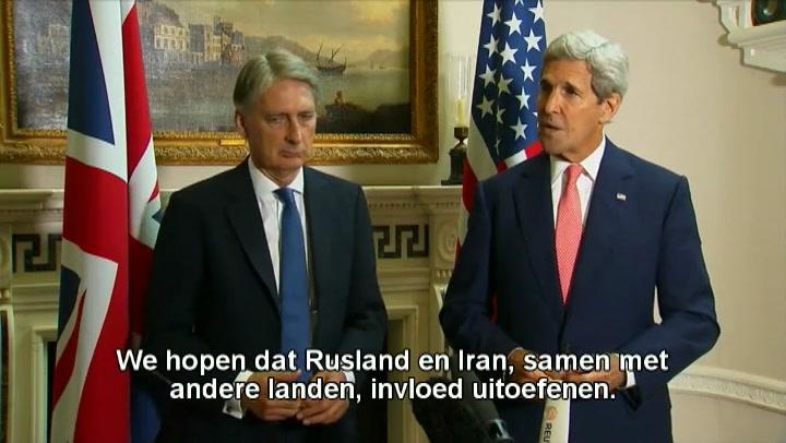 Bekijk de reactie van Kerry