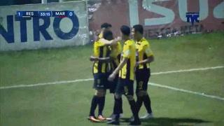 ¡GOOOOL DE REAL ESPAÑA! Jhow Benavidez abre el marcador 1-0 ante Marathón
