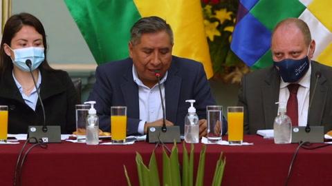 Bolivia prevé escasez mundial de vacunas