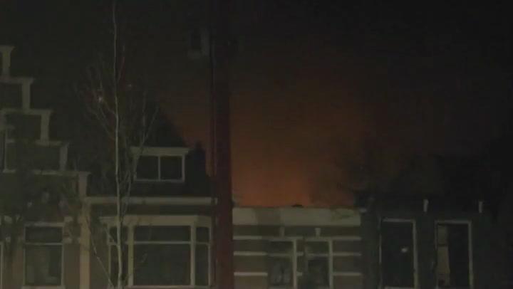Grote brand verwoest deel winkelstraat centrum Alkmaar | NU - Het laatste nieuws het eerst op NU.nl