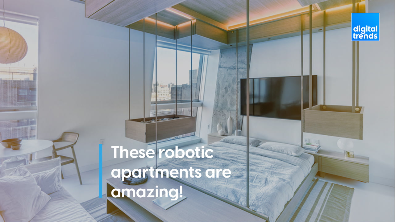 These robotic apartments are amazing!