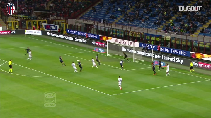 أفضل أهداف بولونيا خارج ملعبه أمام إنتر ميلان
