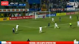 Olimpia 0-1 Motagua por la final de ida del torneo Apertura