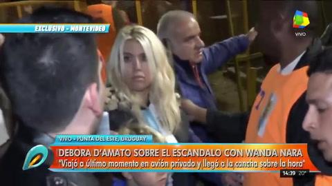 Papelón de Wanda en el partido de la Selección: la expulsaron del palco oficial
