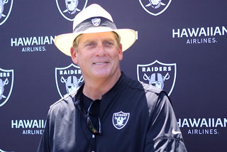Raiders head coach Jack Del Rio updates from day 4 of training camp