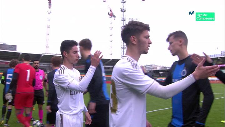 Youth League: Resumen y Goles del Brujas - Real Madrid