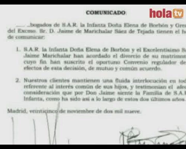 El divorcio de los Duques de Lugo