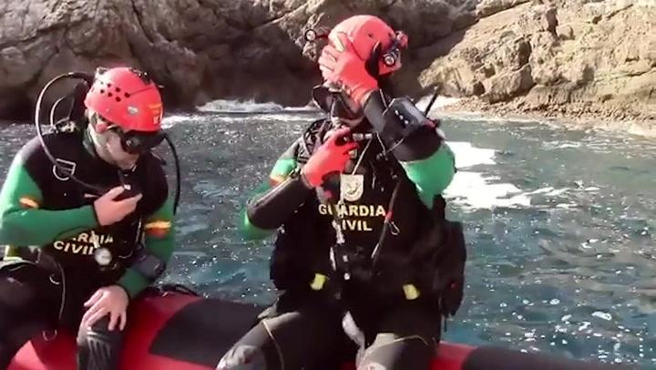 Así entrena Garbiñe Muguruza con un Grupo Especial de la Guardia Civil