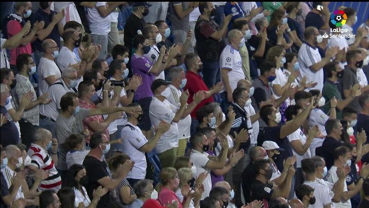El Real Madrid rindió homenaje a Lorenzo Sanz