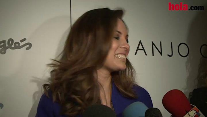 Jessica Bueno: \'Me siento muy orgullosa de Jota\'