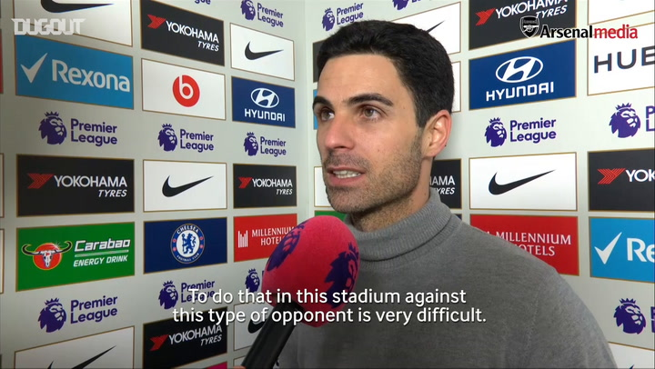 Mikel Arteta delighted with Arsenal's reaction vs Chelsea