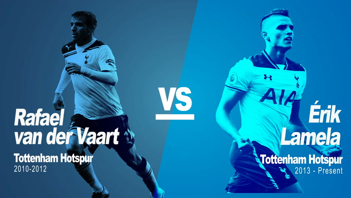 Past vs Present: Van Der Vaart Vs Lamela