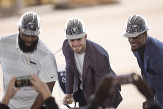 Raiders Headquarters Groundbreaking Ceremony – VIDEO