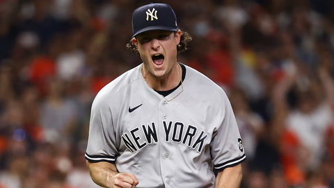 Yankees' Aaron Boone explains what Gerrit Cole said to him vs the Astros in the ninth inning