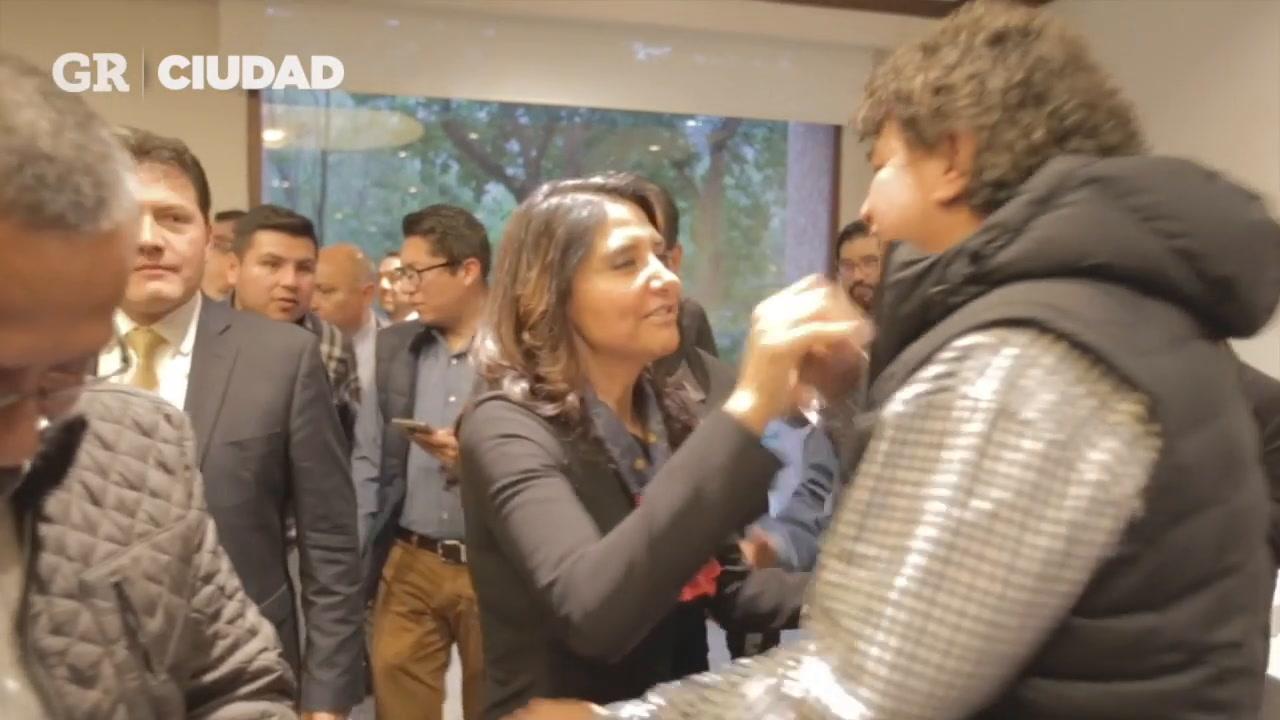 Eligen a Alejandra Barrales candidata a CDMX.