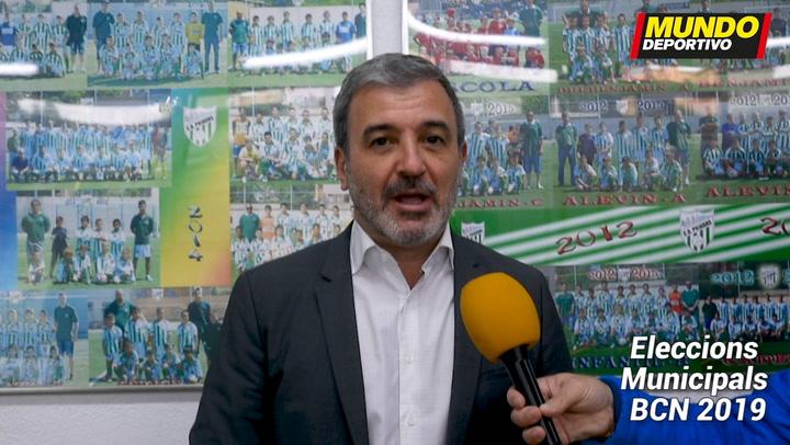 Jaume Collboni, candidato por el PSC a la alcaldia de Barcelona, nos explica su programa deportivo