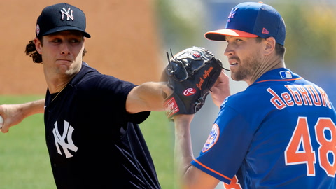 Comparing New York's aces: Mets' Jacob deGrom and Yankees' Gerrit Cole