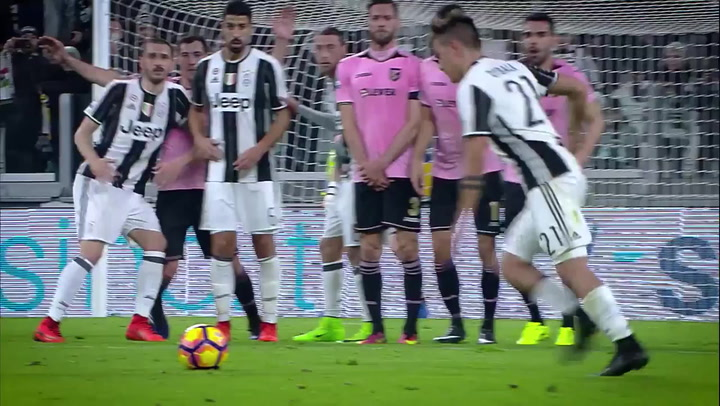 Dybala best 10 goals with Juve