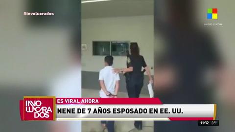 Nene de 7 años arrestado por la policía en Miami