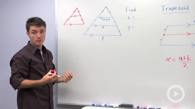 Trapezoid Midsegment Properties - Problem 2