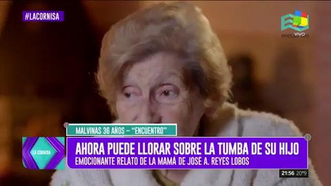 El emotivo relato de la madre que ahora puede llorar a su hijo muerto en Malvinas