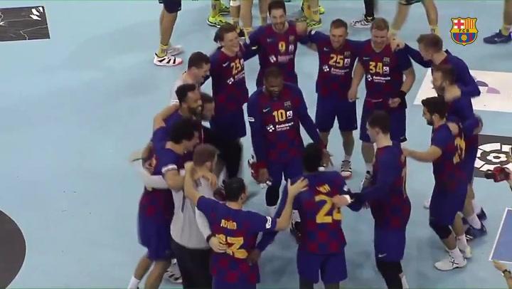 El resumen del Barça 30 - 22 Bidasoa Irún, final de la Copa ASOBAL