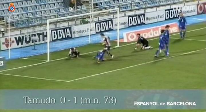 RCD Espanyol's historical goals at the Coliseum Alfonso Pérez