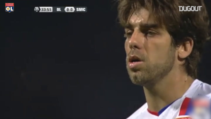 Juninho's 100th goal and last game with OL
