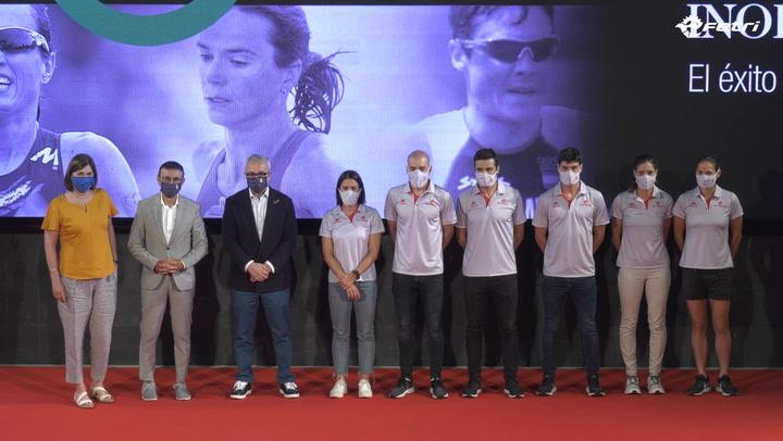 Gómez Noya capitanea el equipo español de triatlón en los Juegos de Tokio