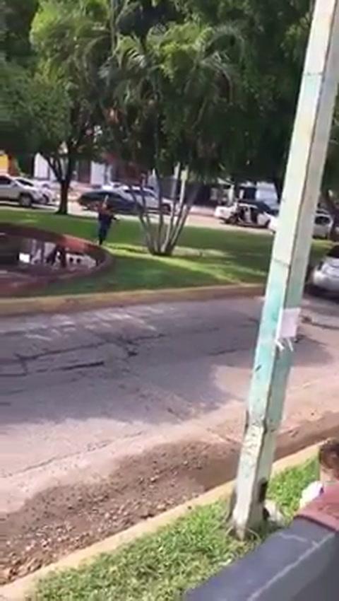 Pánico tras balacera en supuesta captura del hijo del Chapo Guzmán