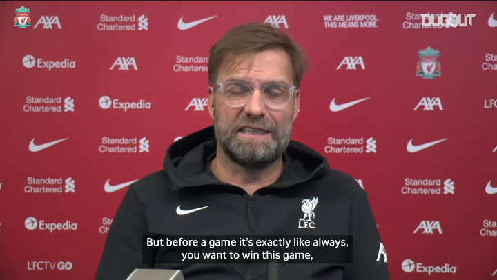 Klopp: 'We feel pressure from ourselves not other teams'
