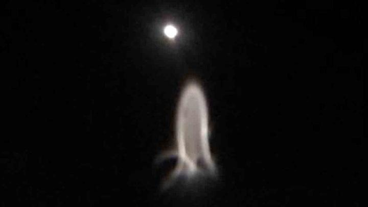 Mystisk fenomen dukket opp på nattehimmelen