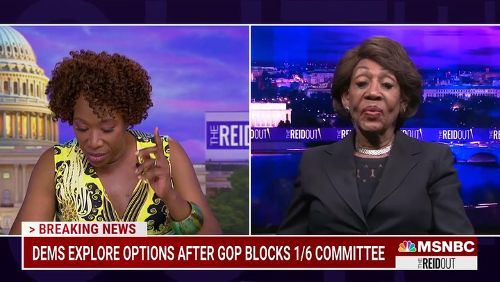 Maxine Waters: 'I Believe' Republican Lawmakers Were Working with Capitol Rioters