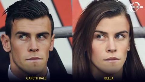 Así se verían los futbolistas más famosos si fueran mujeres