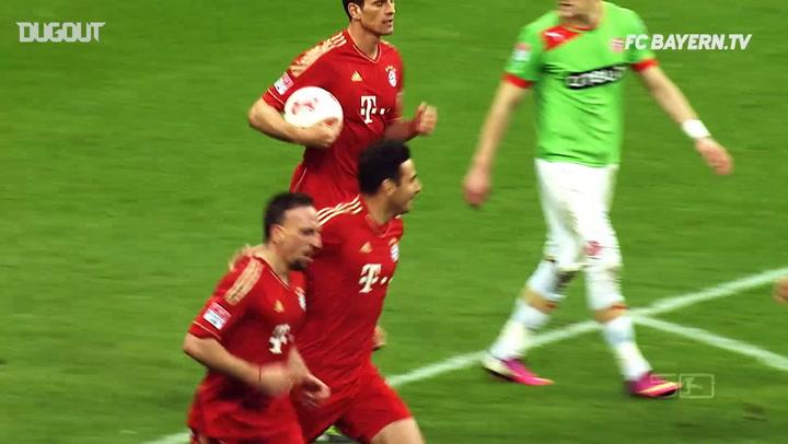 FC Bayern's Best Goals Vs Düsseldorf