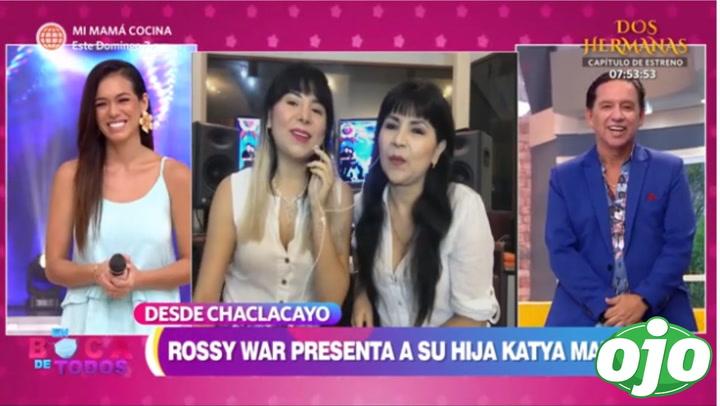 Rossy War presentó a su hija Katya Mauri en televisión y cantaron 'Nunca pensé llorar' | VIDEO