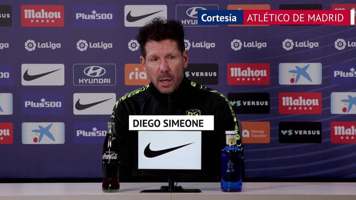 """Simeone, en titulares: """"Los resultados globalizan la opinión: si Suárez no hacía el gol..."""""""