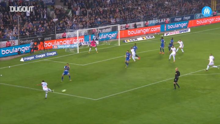All Dimitri Payet's goals vs Strasbourg