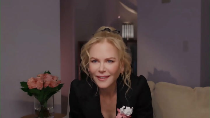Nicole Kidman is interviewed by Jimmy Fallon from her home in Australia