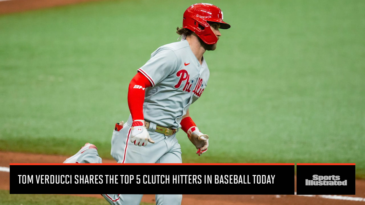 SI Insider: Tom Verducci Shares the Top 5 Clutch Hitters in Baseball Today