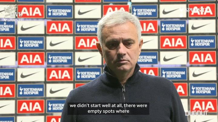 Jose discusses Leicester defeat