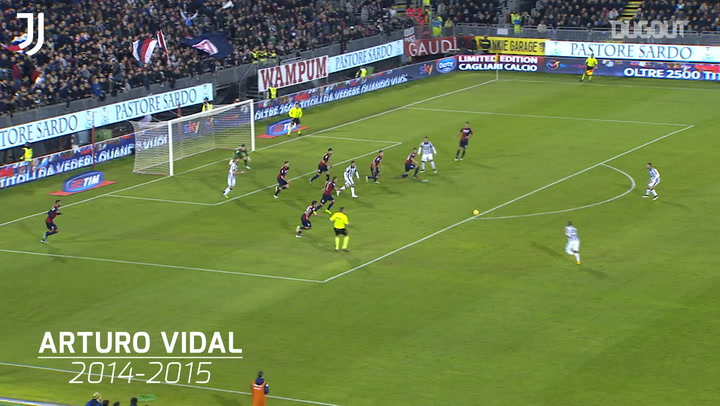 Juventus' top five goals at Cagliari
