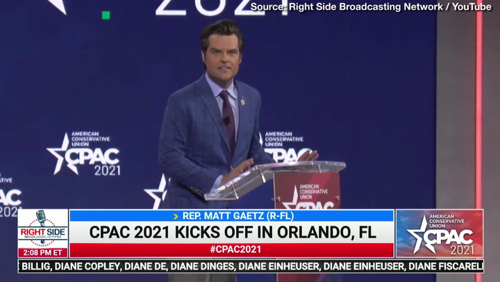 Matt Gaetz Rips Lockdown Governors, Media, Big Tech at CPAC 2021