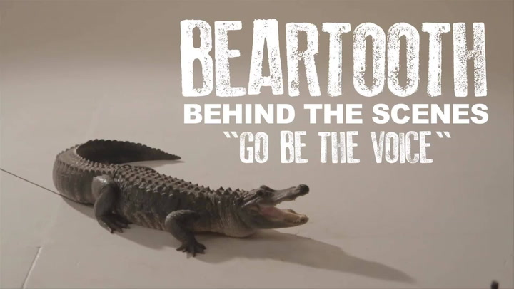 "Shows: Music Video BTS: Beartooth BTS ""Go Be The Voice"""